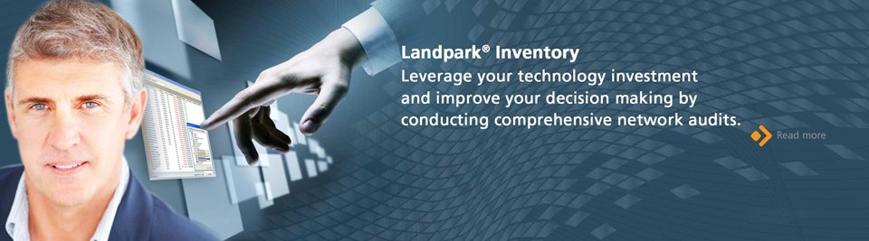 Landpark Inventory, leverage your technology investment and improve your decision making by conducting comprehensive network audits.