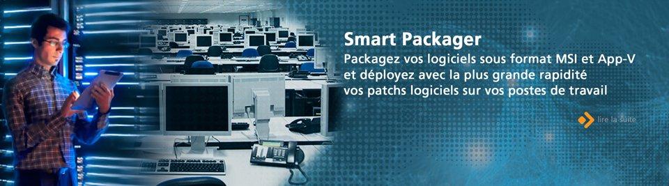 Packagez vos logiciels sous format MSI et App-V et déployez avec la plus grande rapidité vos patchs logiciels sur vos postes de travail